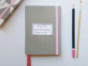 Designové zápisníky Papelier pro psaní a tvoření
