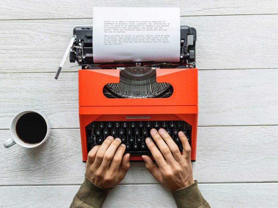 Když si řeknete, proč píšete, půjde to lépa