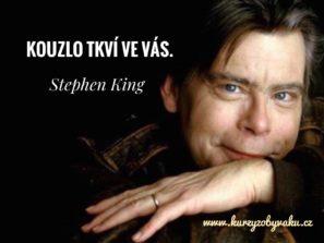 Co o psaní radí Stephen King