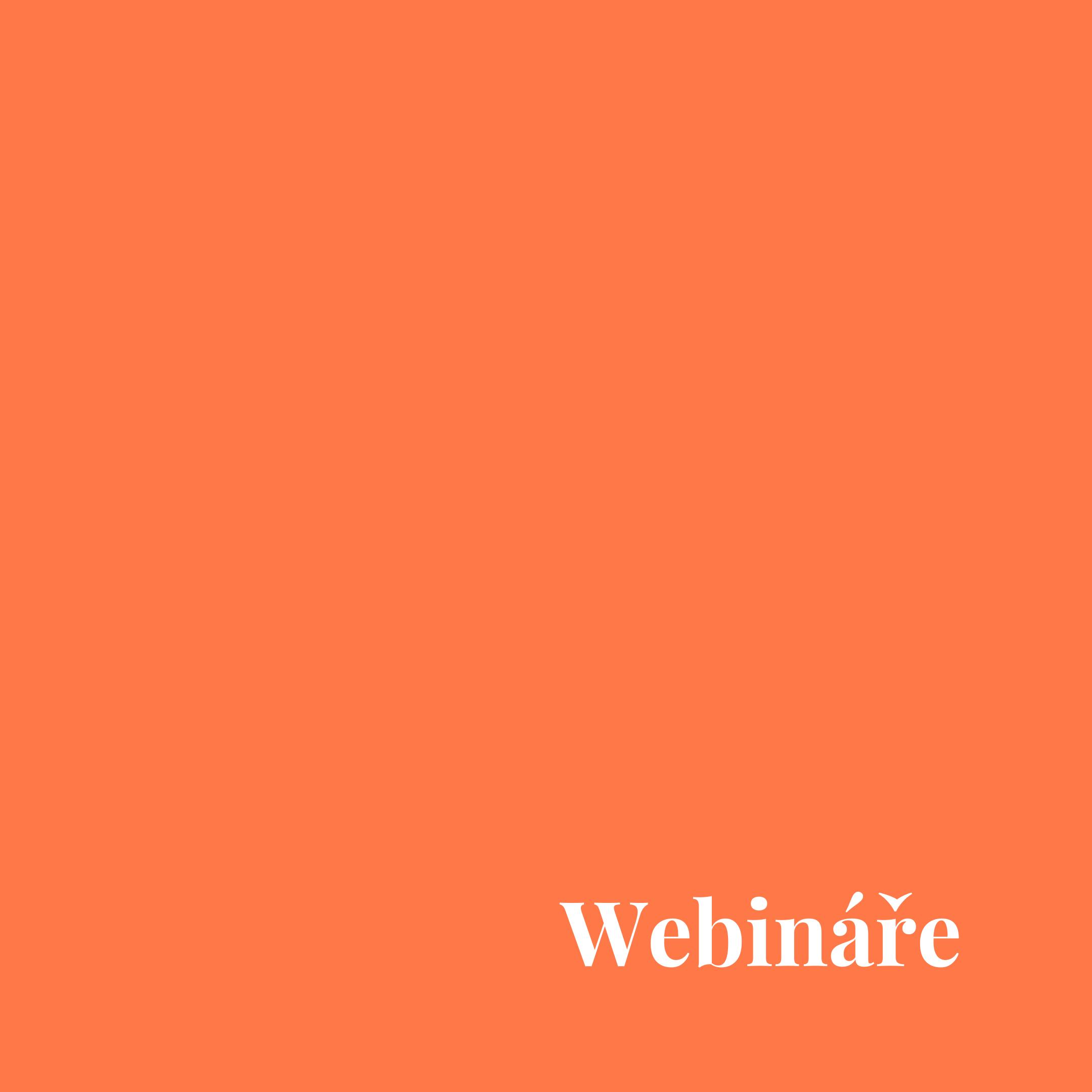 Webináře